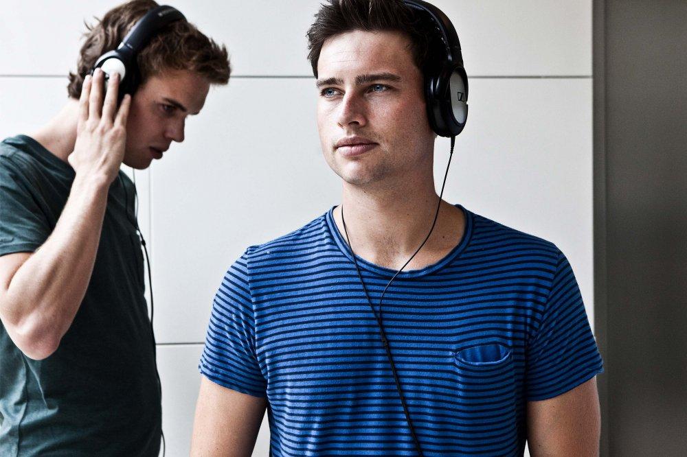 Portretfotograaf amersfoort jongen met headset