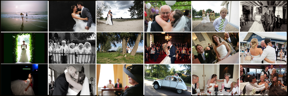 Bruidsfotografie, Trouwerij